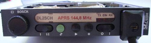 KF166aprs Frontplatte